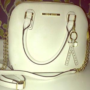 White Steve Madden Crossbody Bag